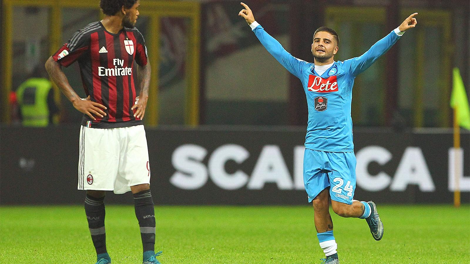 Lorenzo Insigne nets brace as Napoli thrash AC Milan