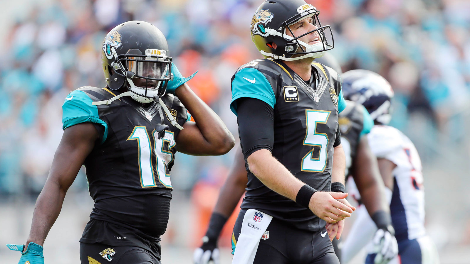 Jaguars' Bortles, Robinson trying to get in a groove