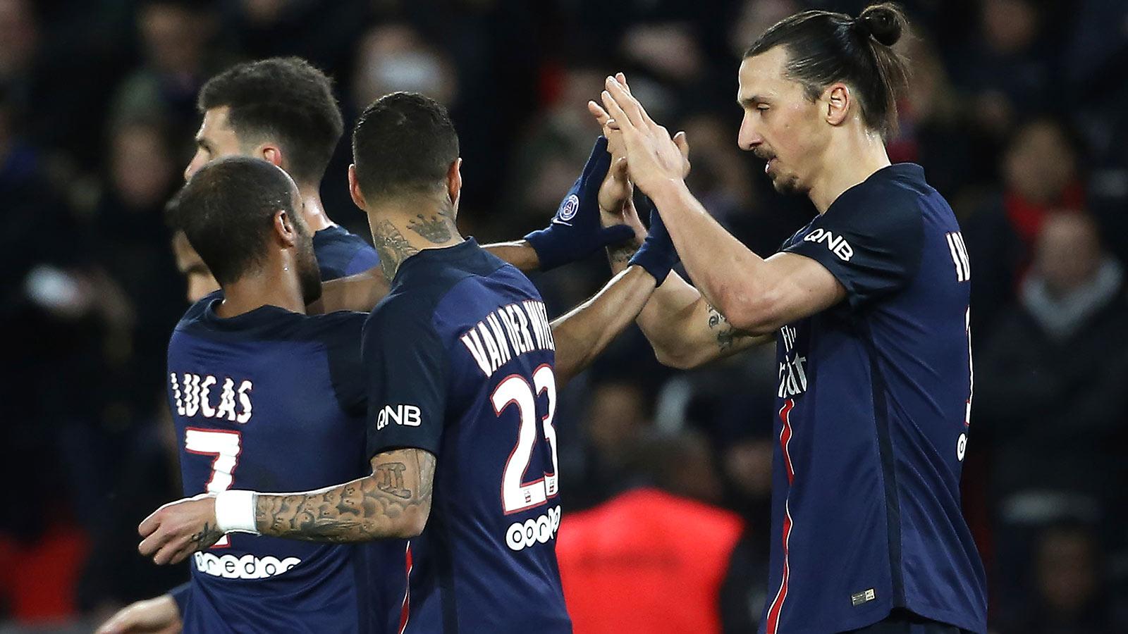 Zlatan Ibrahimovic scores double as PSG rout Reims