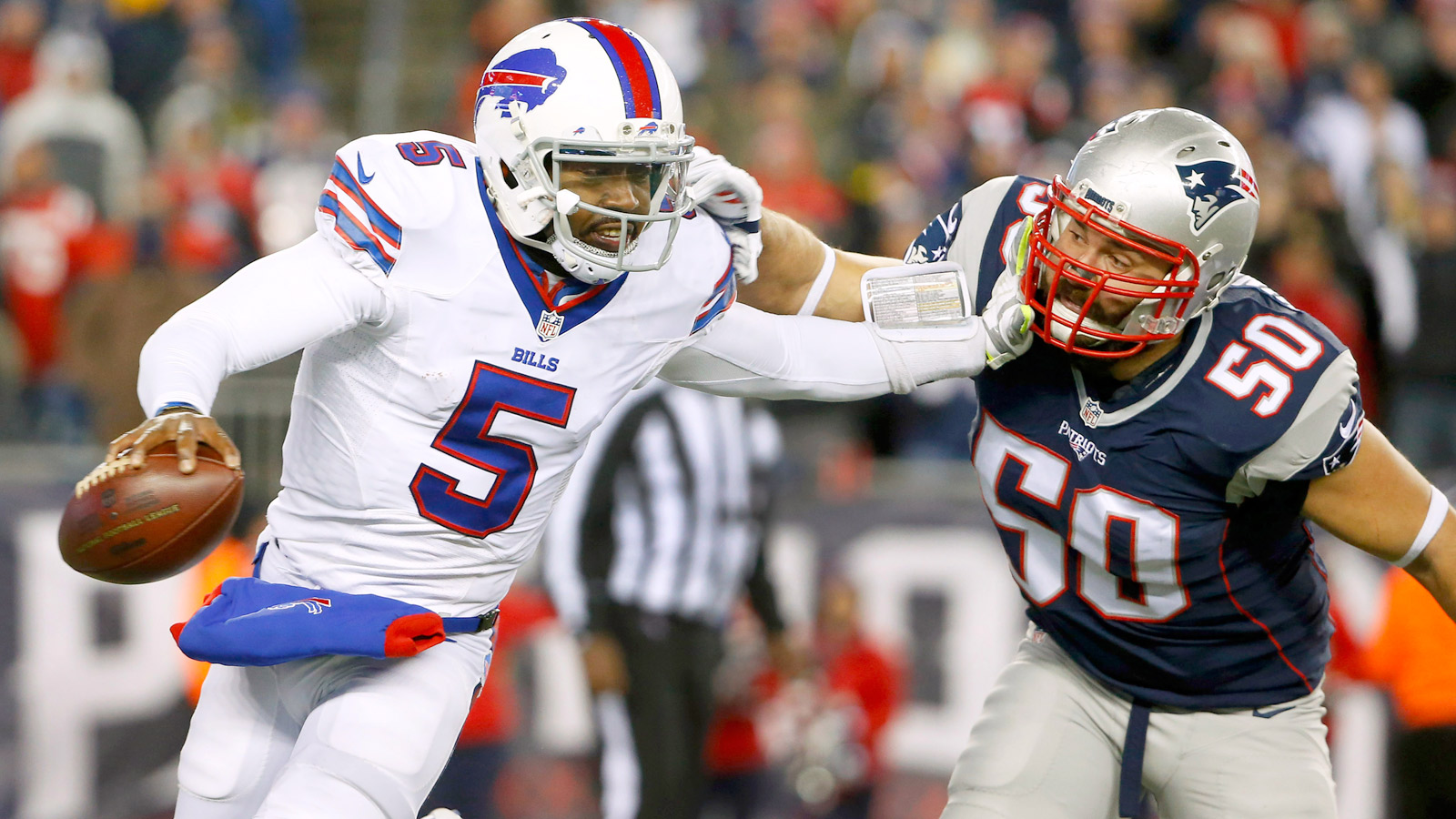 Bills QB Tyrod Taylor should be healthy enough to play against Chiefs