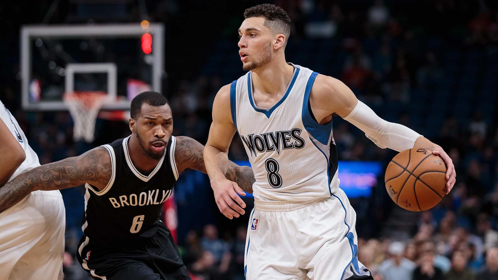 Wolves-Nets Twilights: LaVine hits first-half buzzer beater