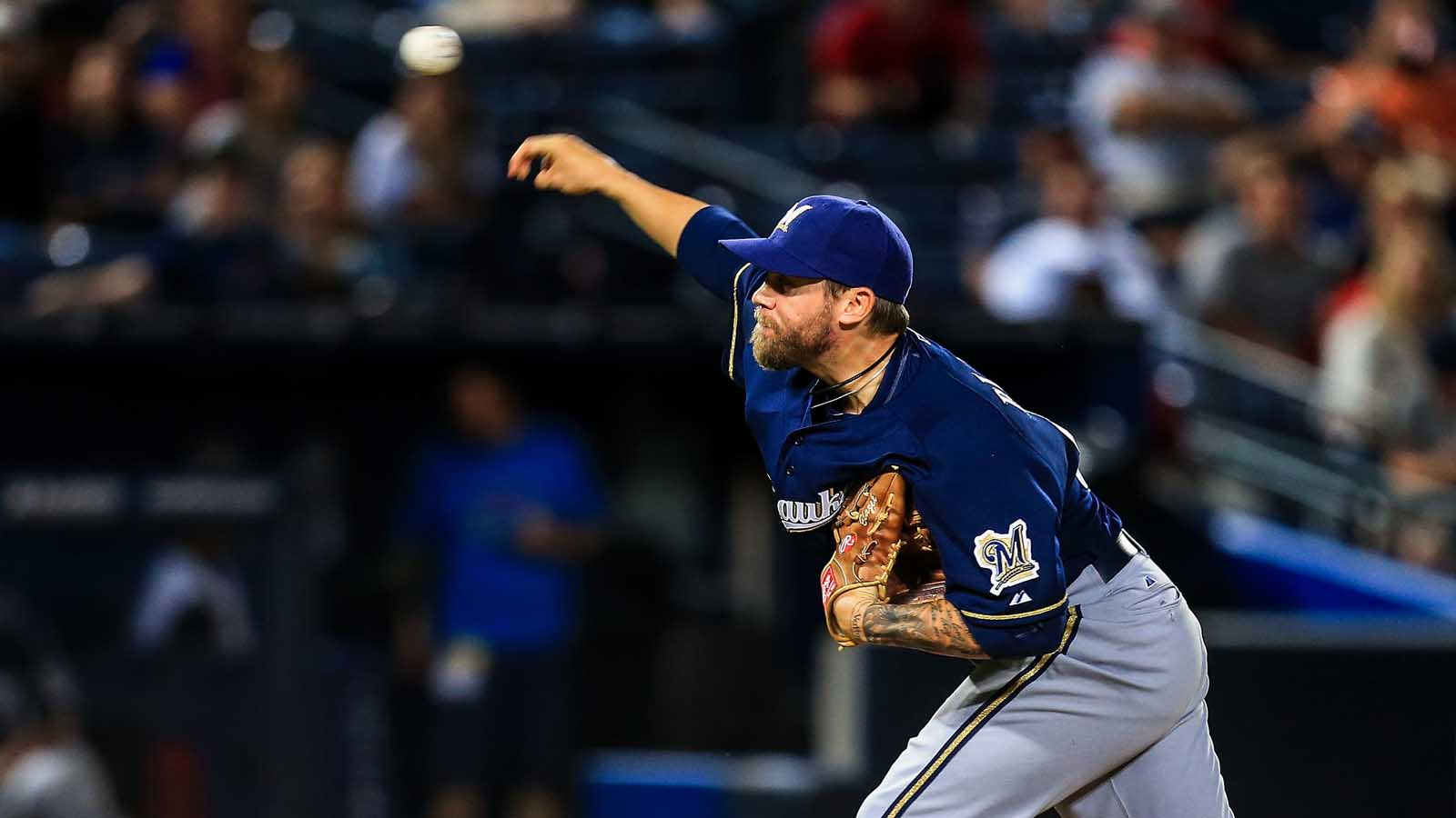 Brewers recall Blazek, option Knebel