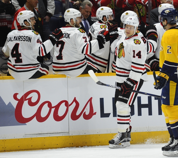 Chicago Blackhawks' Richard Panik Emerging At Perfect Time