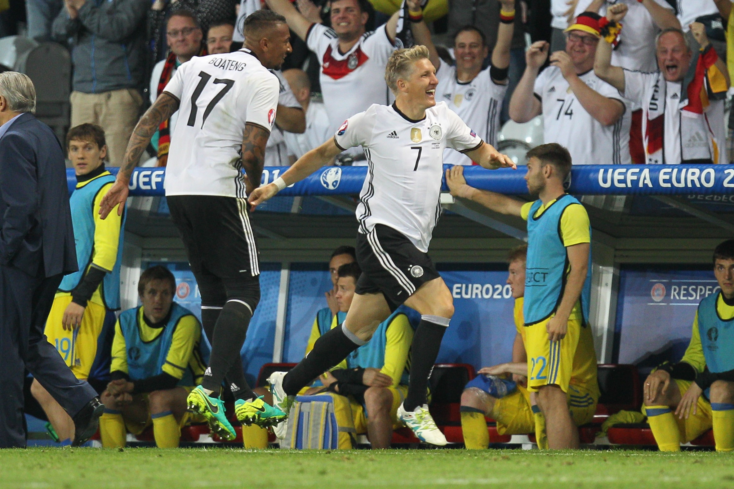 Germany won, but their weaknesses were on full display
