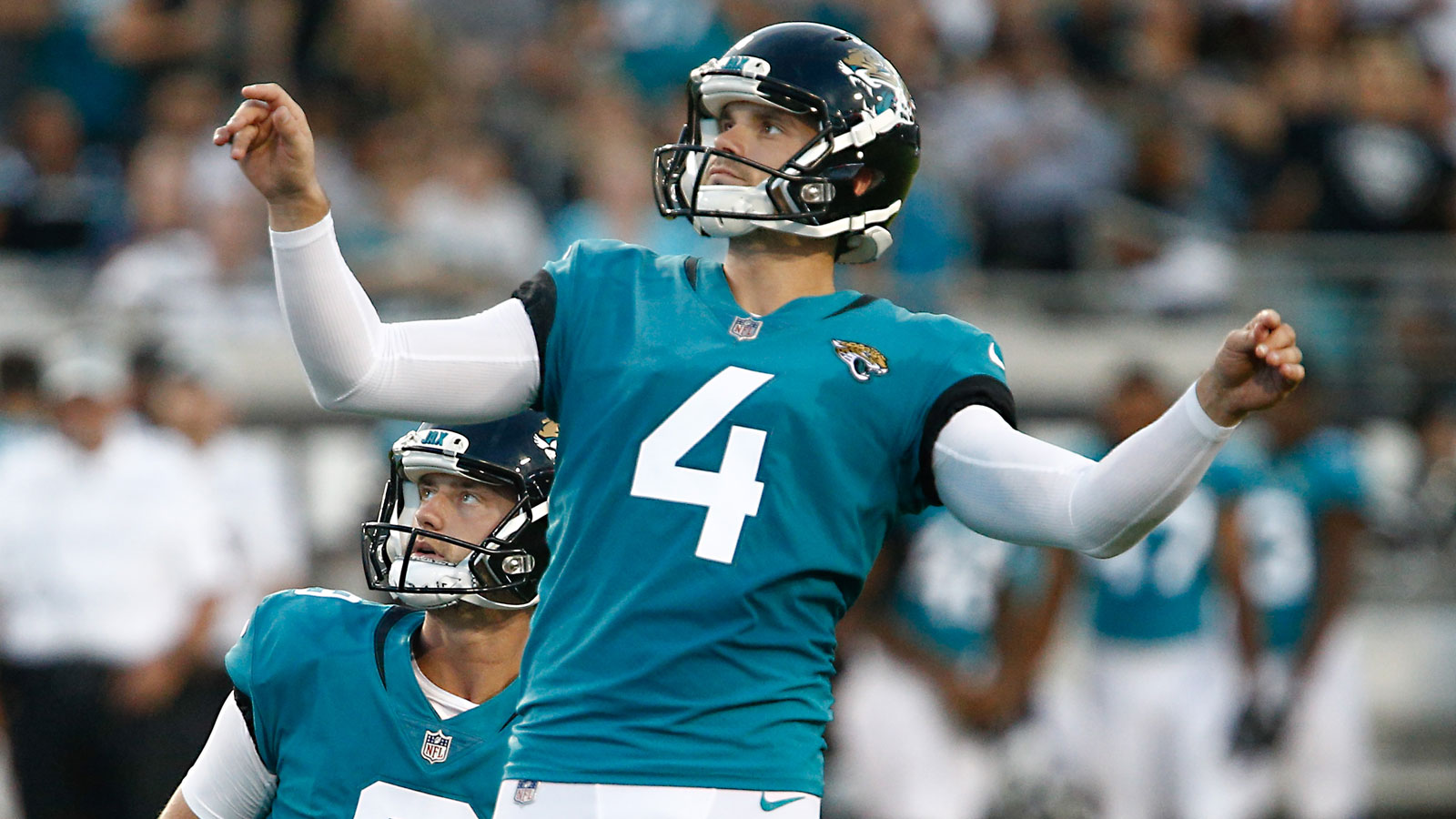 Jaguars sign kicker Josh Lambo to 4-year contract extension