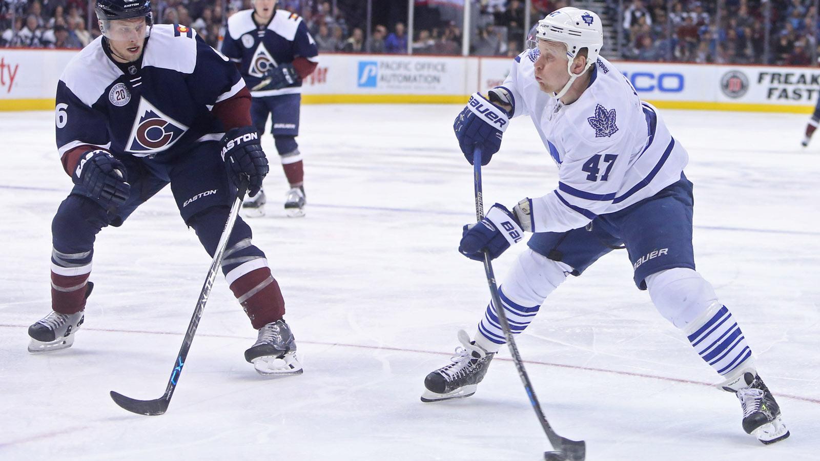 Leo Komarov developing into All-Star, locker room jester with Maple Leafs