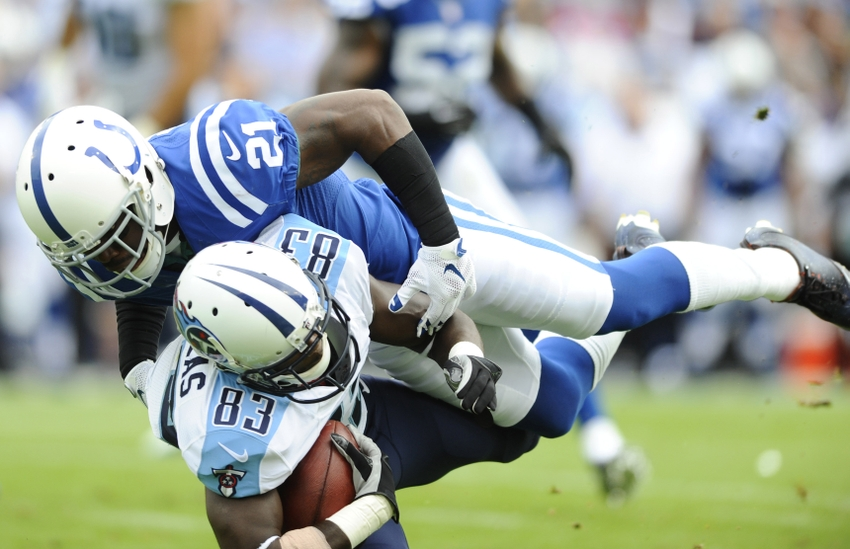 Titans at Colts Inactives: Vontae Davis Good to Go; Patrick Robinson 'Out'
