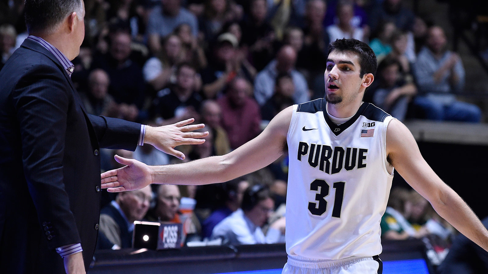 Purdue sinks school-record 18 3-pointers in 107-79 win over Vermont