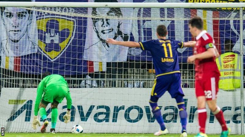 Watch Aberdeen's Europa League dreams burst on a devastating own goal