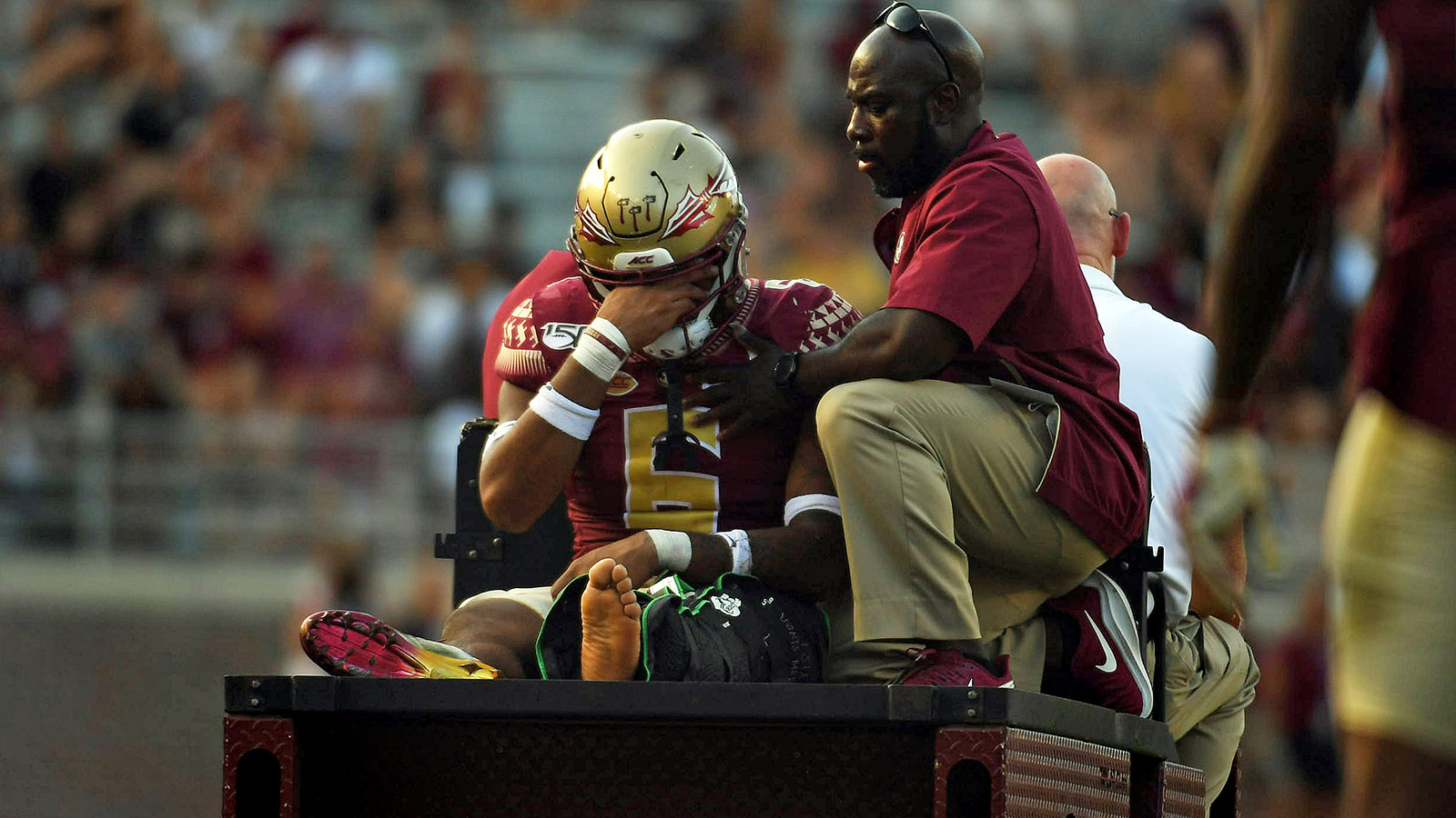 FSU linebacker Jaiden Lars-Woodbey out for season; James Blackman, Jauan Williams listed as day-to-day