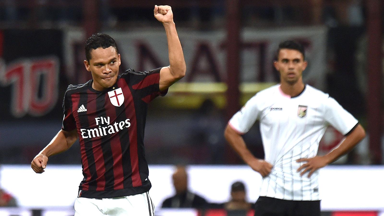AC Milan sneak past Palermo; Empoli beat 10-man Udinese