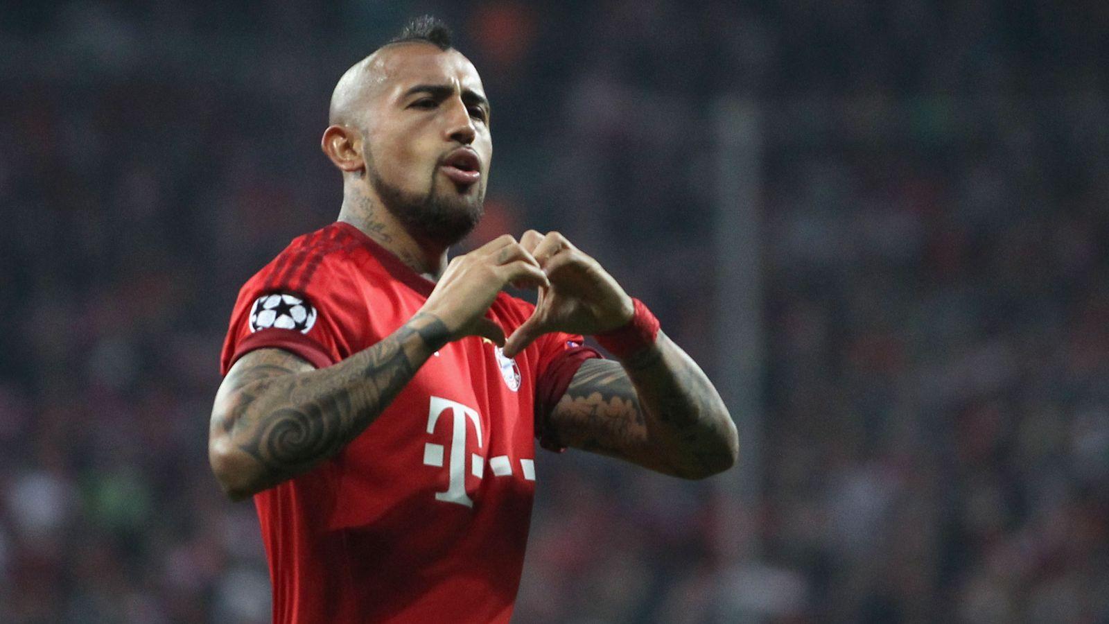 Guardiola praises Bayern's match-winner Vidal after Benfica win