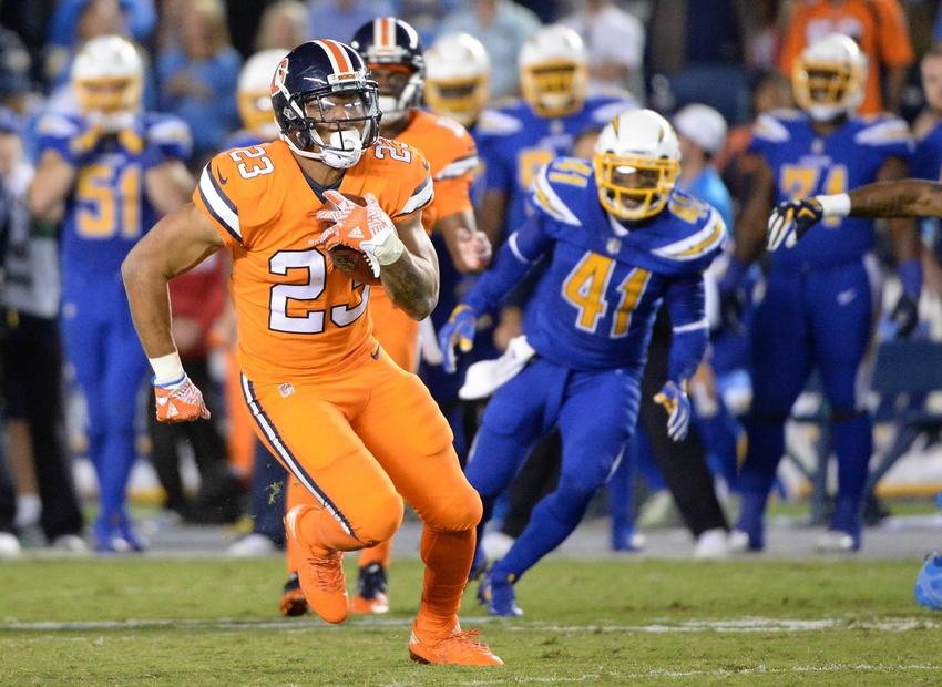 Denver Broncos: Devontae Booker taking over as lead back