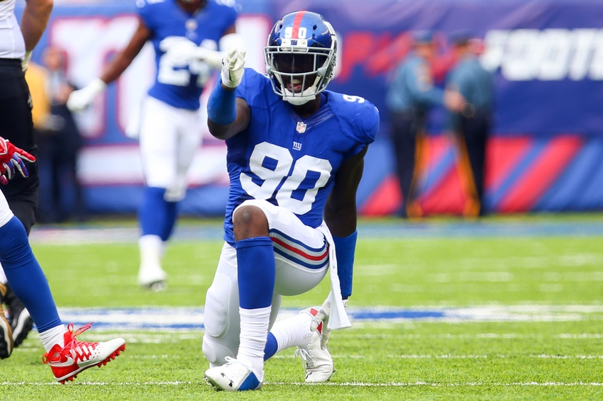 New York Giants: Jason Pierre-Paul Out for Crucial Stretch Run