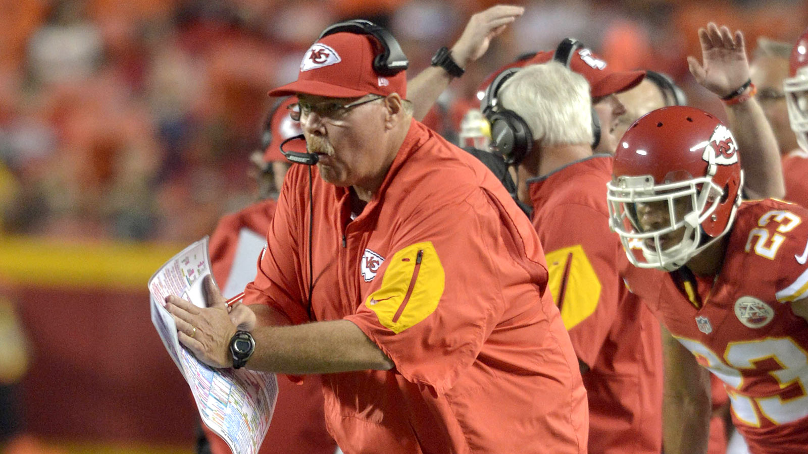 AFC West Notebook: Andy Reid -- Coach of the Year?