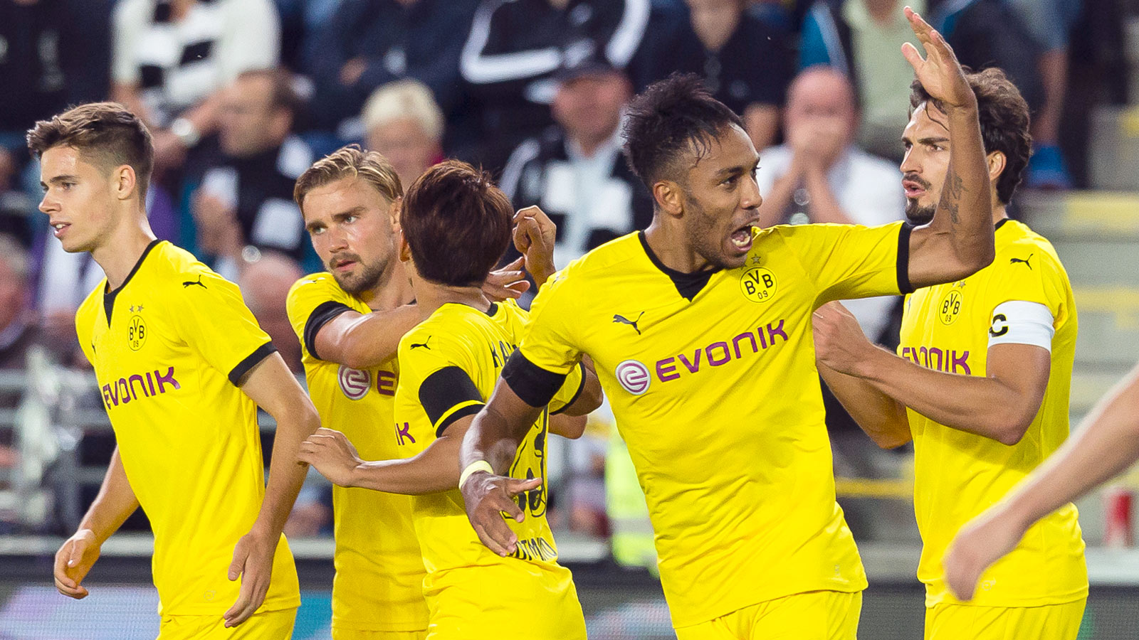 Dortmund pull off face-saving comeback vs. Odd in Europa playoff