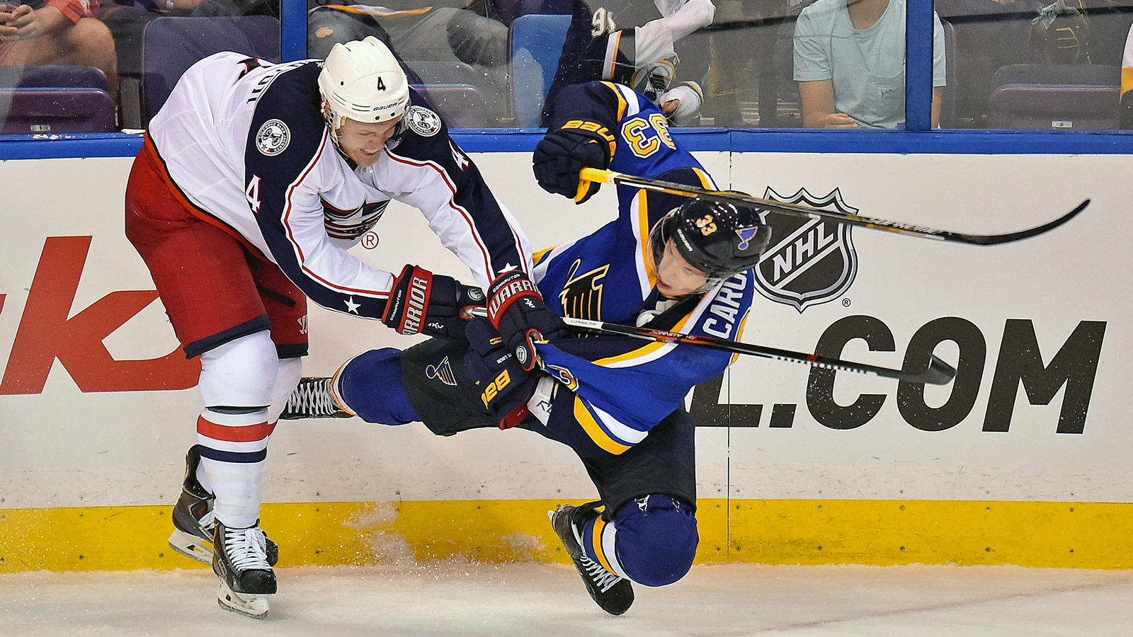 Blues' latest cuts: Caron and Copley sent to Wolves