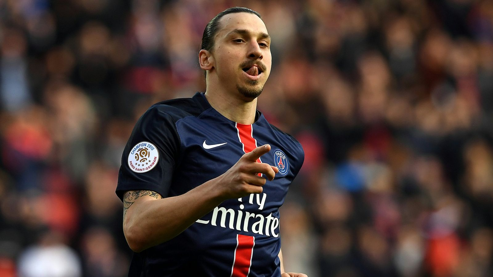 Ibrahimovic sets personal goal record as PSG routs Caen