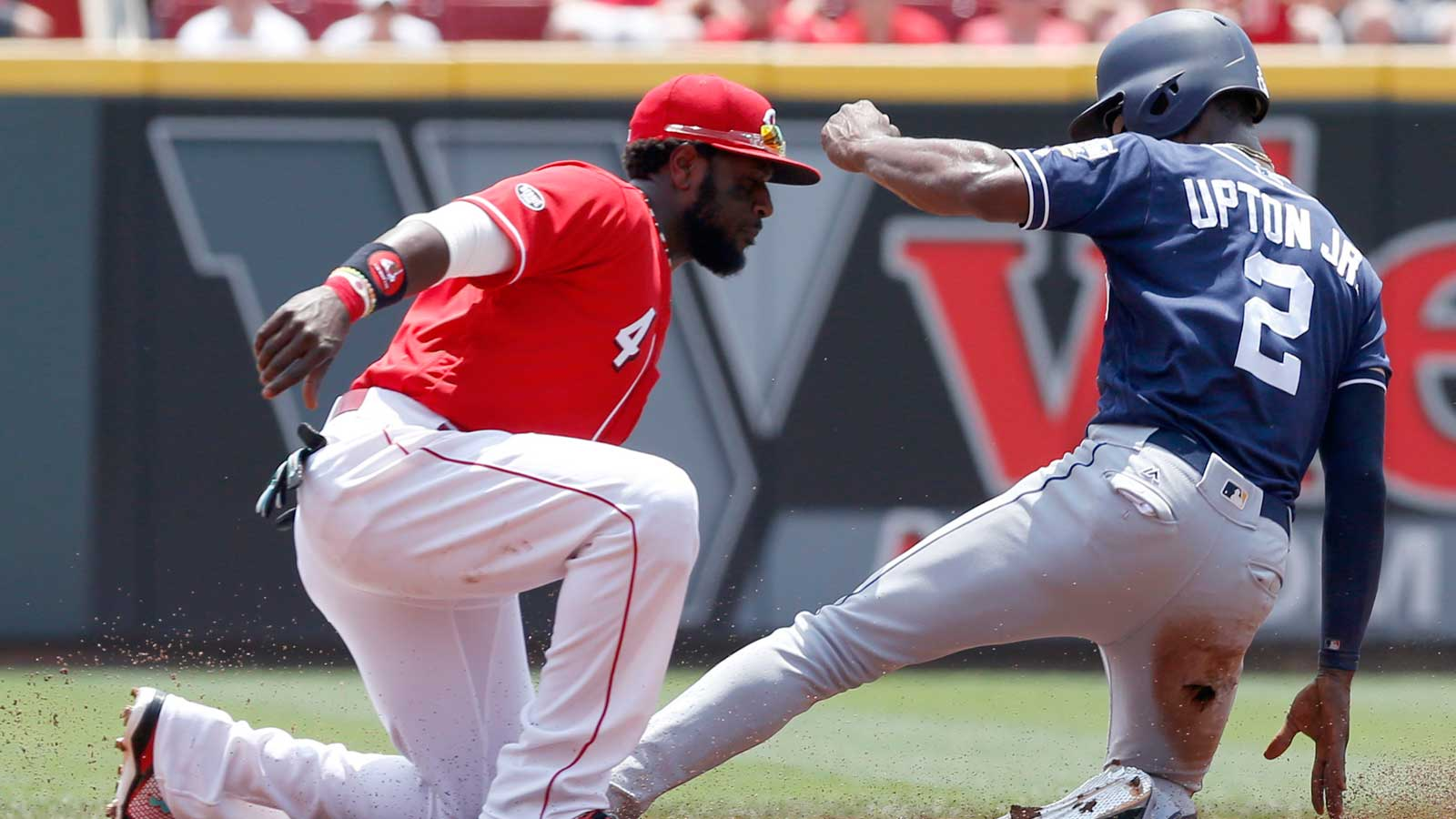 Padres' 3-0 loss to Reds finishes successful series