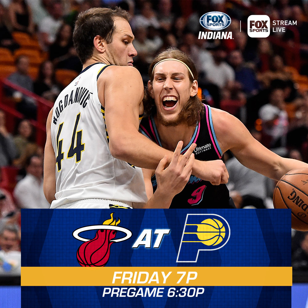 Pacers on the lookout for Heat's Dragic in Friday rematch