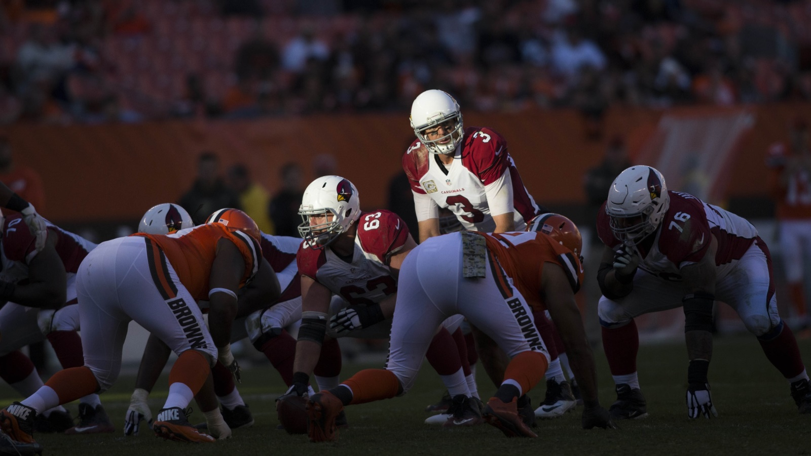 Cardinals emerged from dark first half vs. Browns