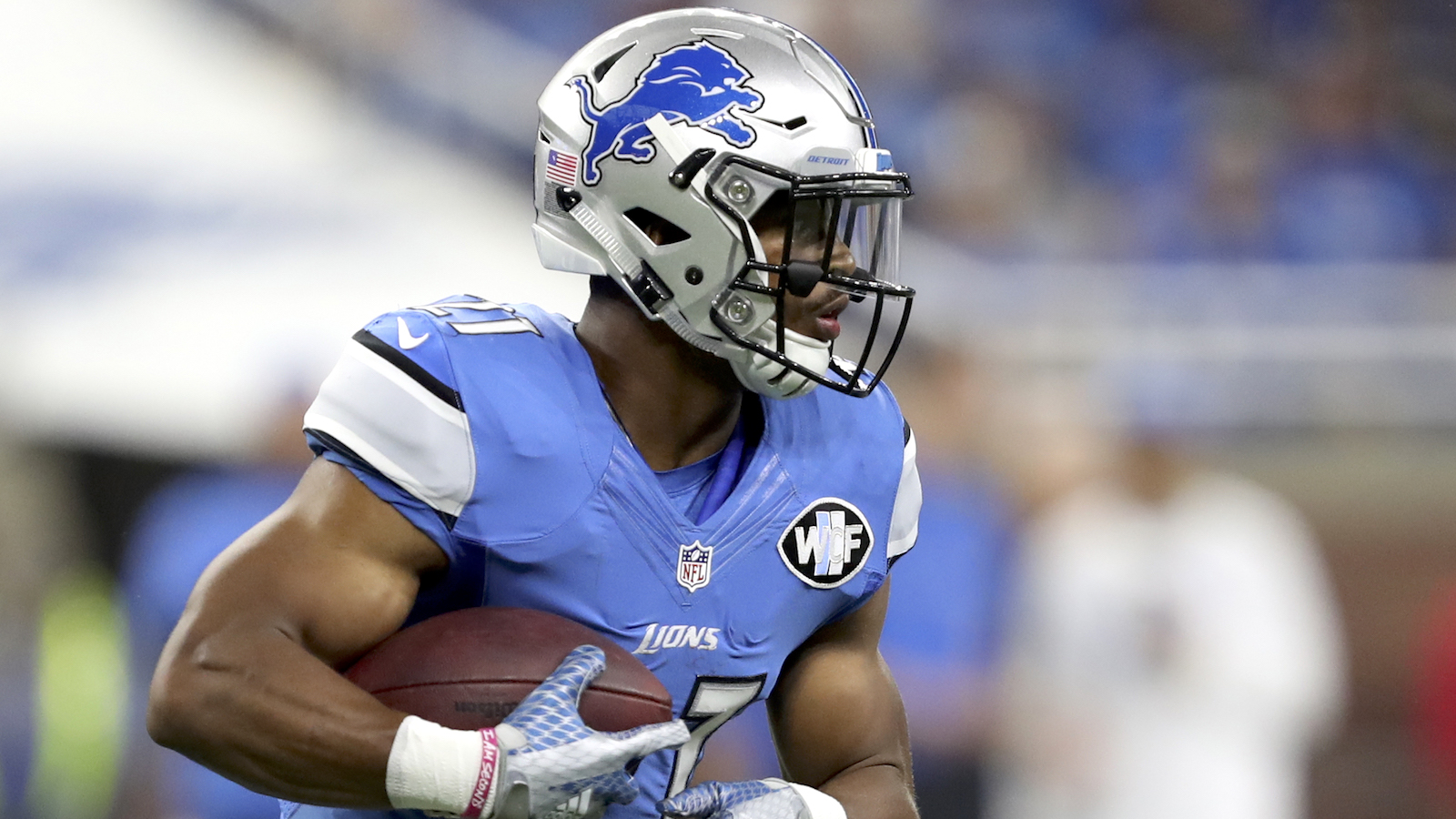 Lions place RB Ameer Abdullah on injured reserve with foot injury