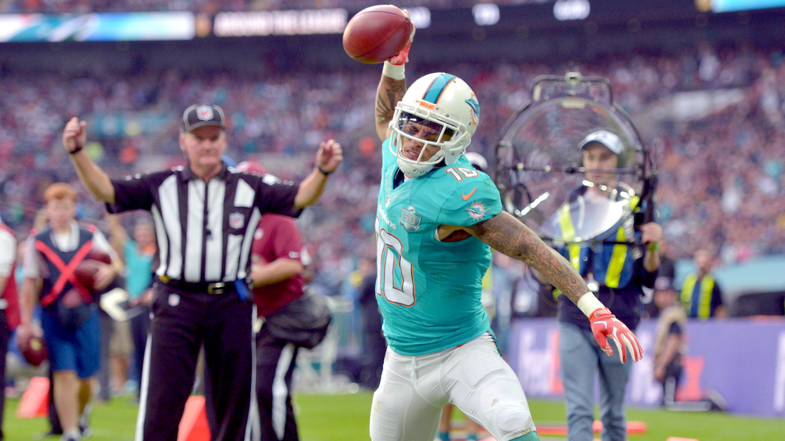 Kenny Stills replaces Greg Jennings as starting WR for Dolphins