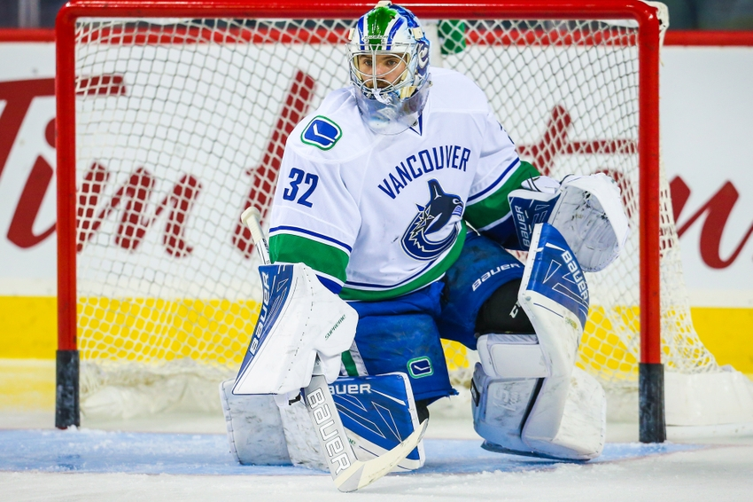 Vancouver Canucks Place G Richard Bachman on Waivers