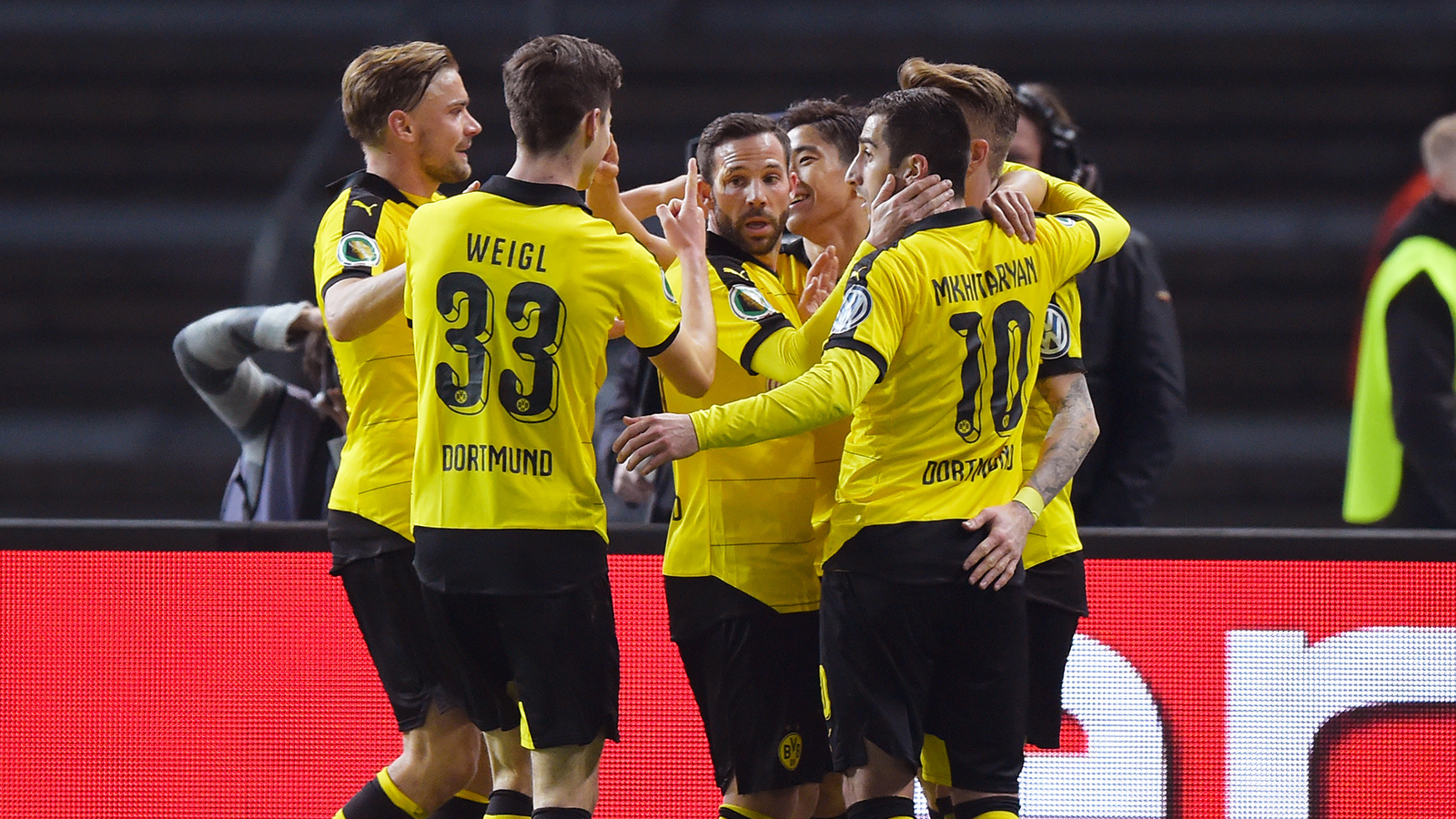 Dortmund trounce Hertha Berlin to set up final date vs. Bayern Munich