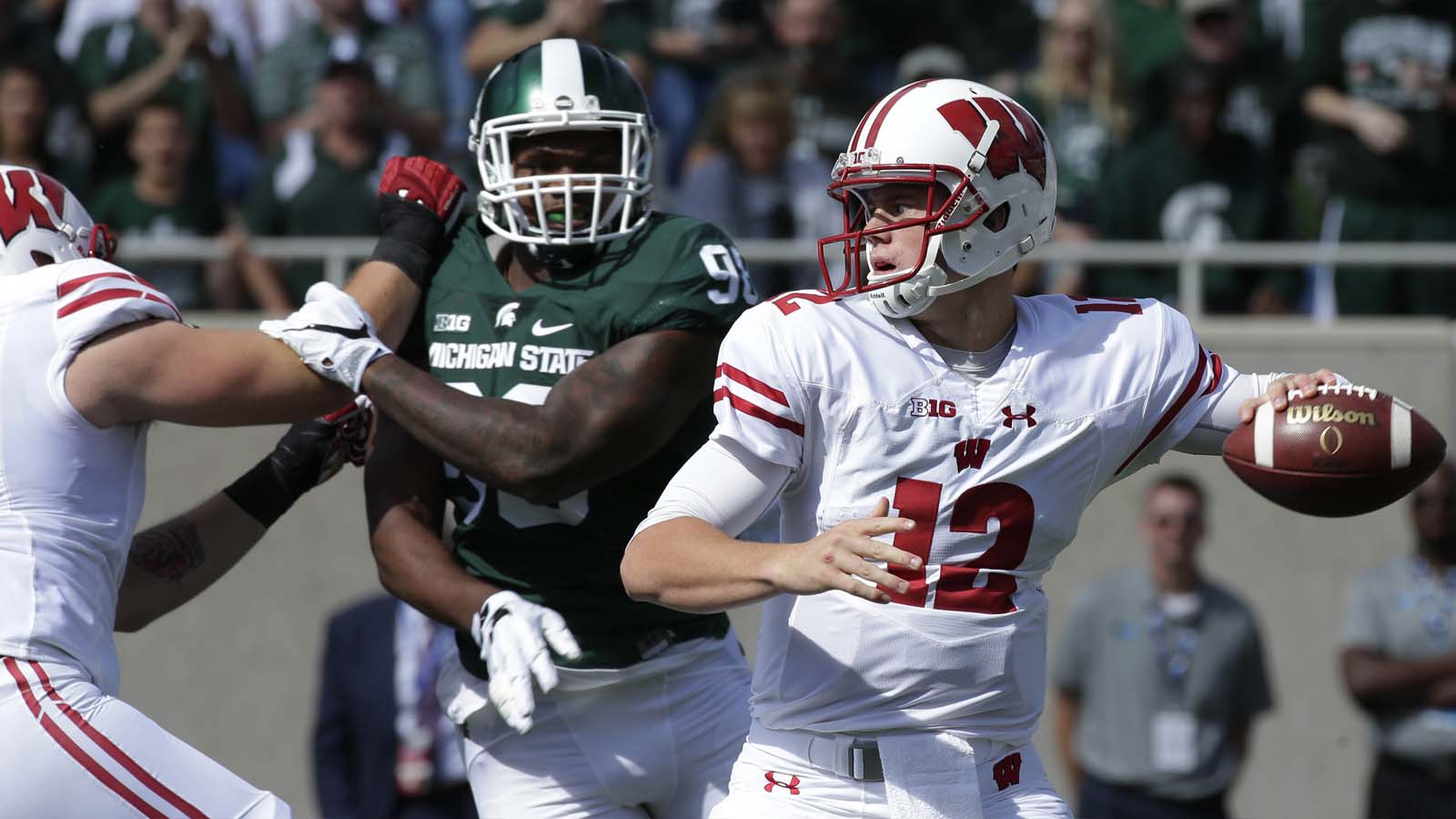 Young Badgers Tracker: Hornibrook's starting debut