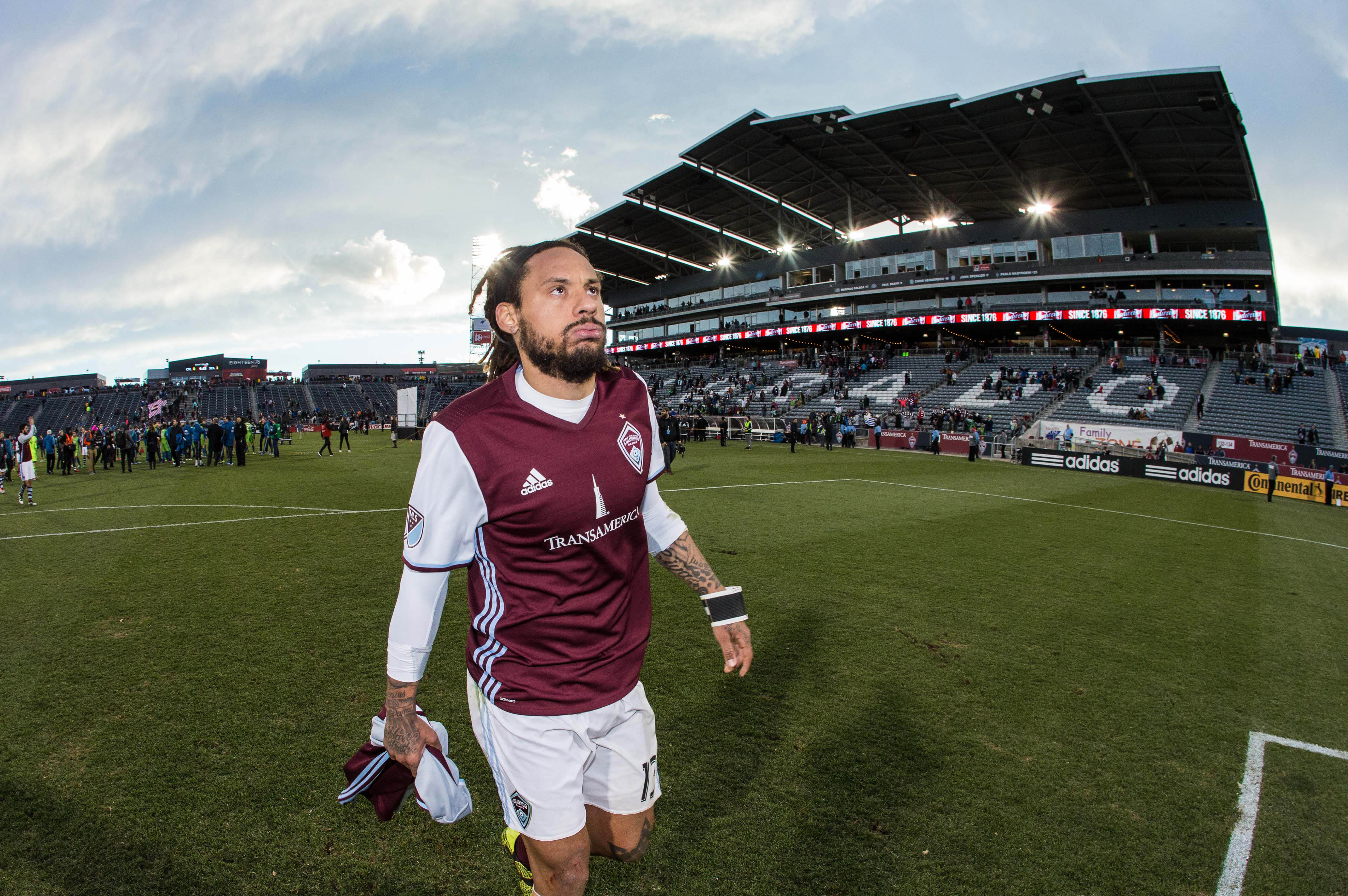 Jermaine Jones could barely wait for the Rapids season to end to threaten to leave