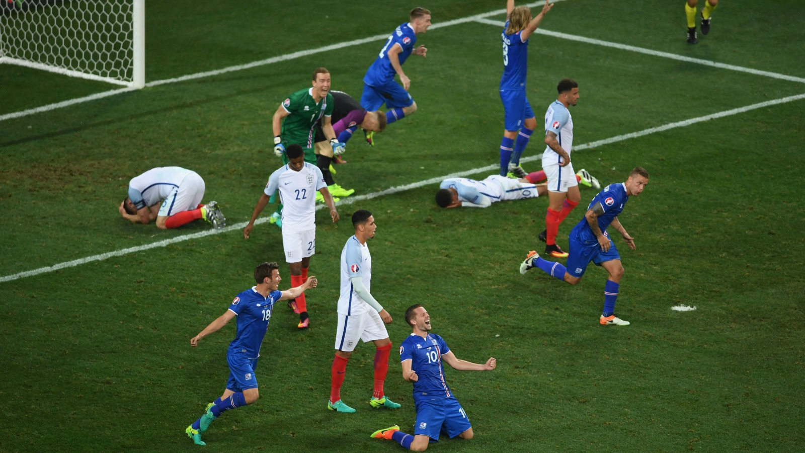 How big of an upset was Iceland's win over England?