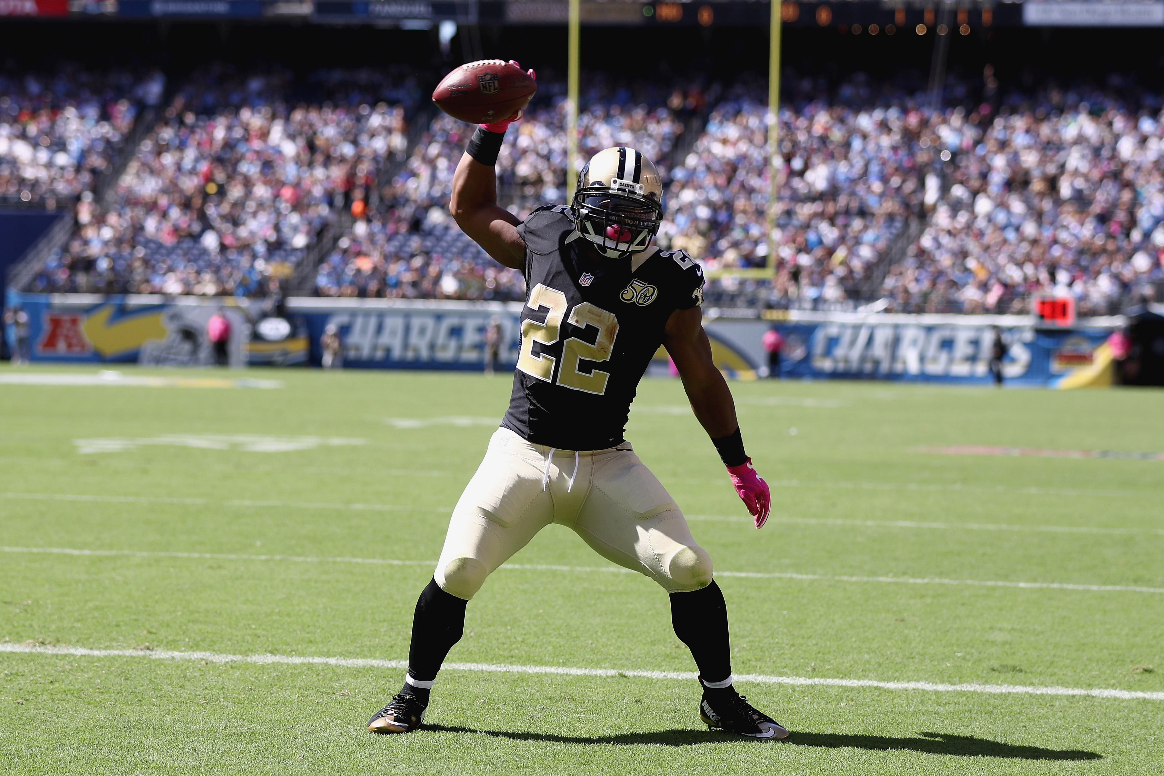 Saints' Mark Ingram needs a fire lit under him: Perhaps Gil Fenerty and Wilmont Perry can light it