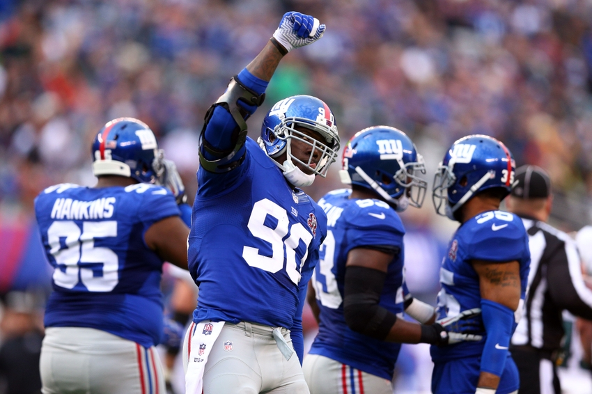 Injury To Jason Pierre-Paul Tests Giants Depth And Resolve