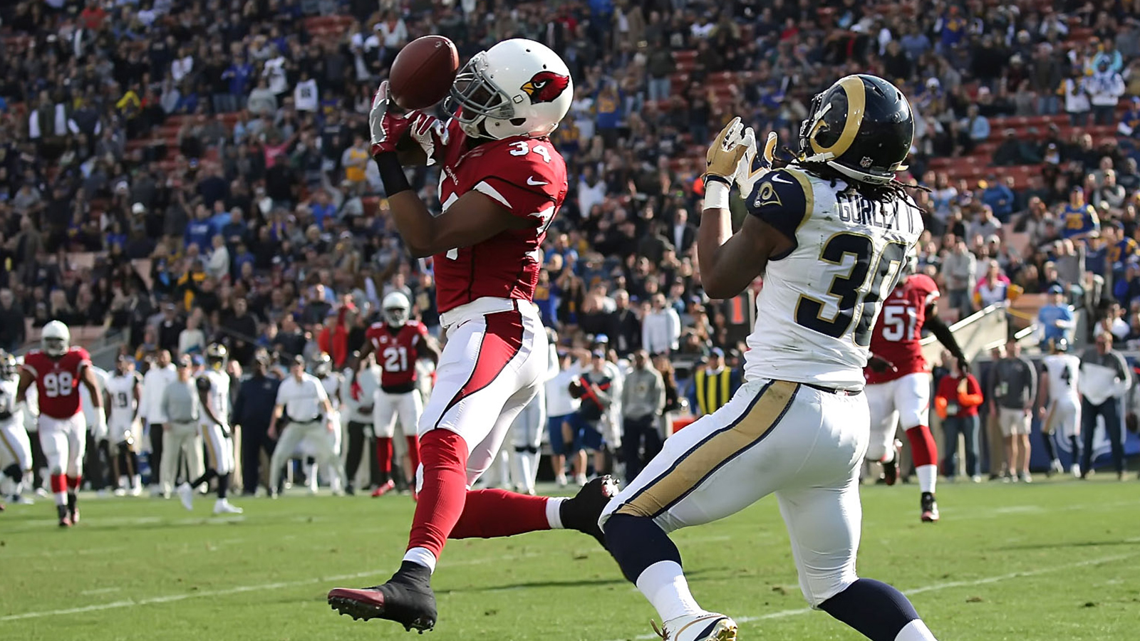 Cardinals close disappointing season on high note with blowout of Rams
