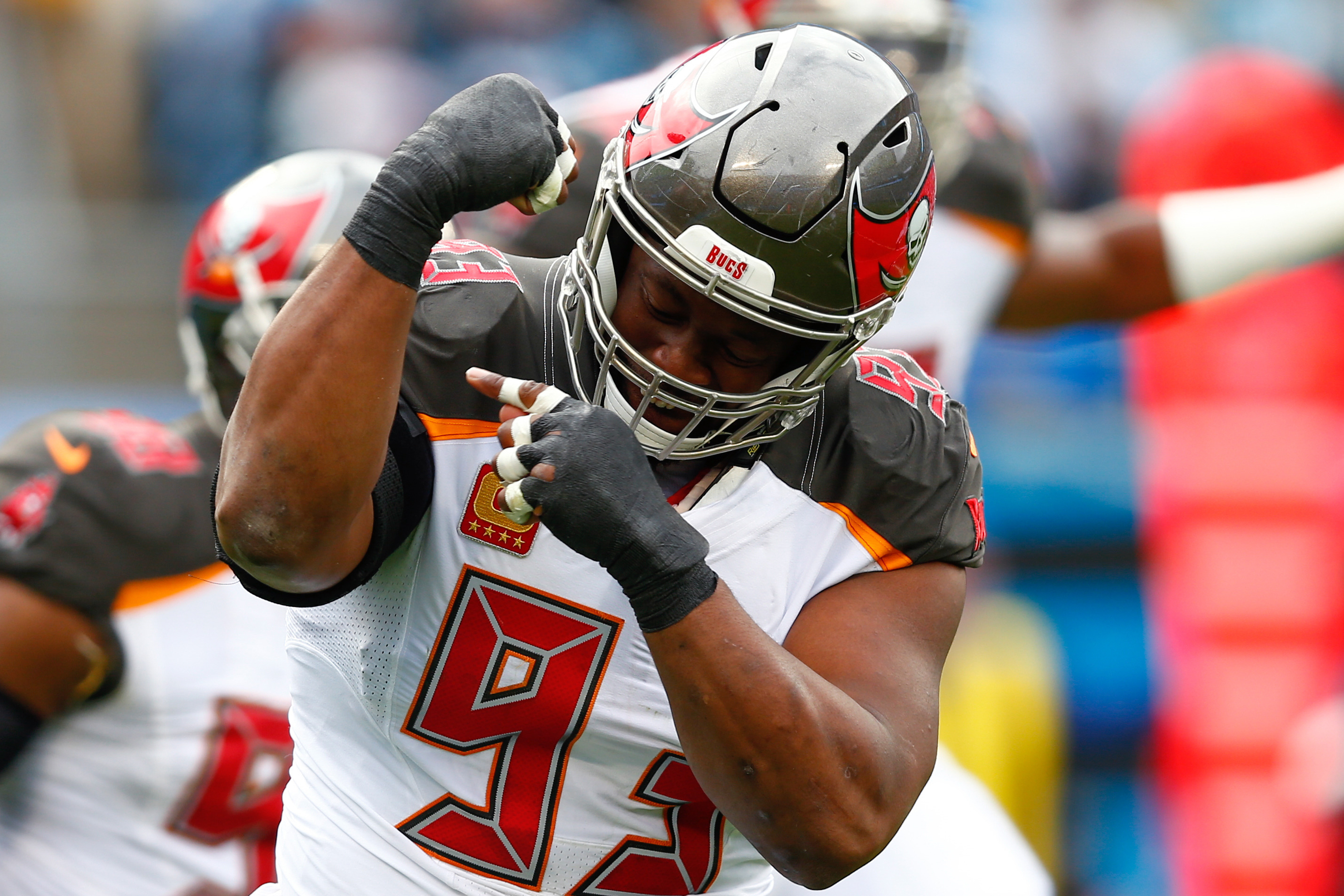 Bucs' veteran McCoy treating camp like a youngster