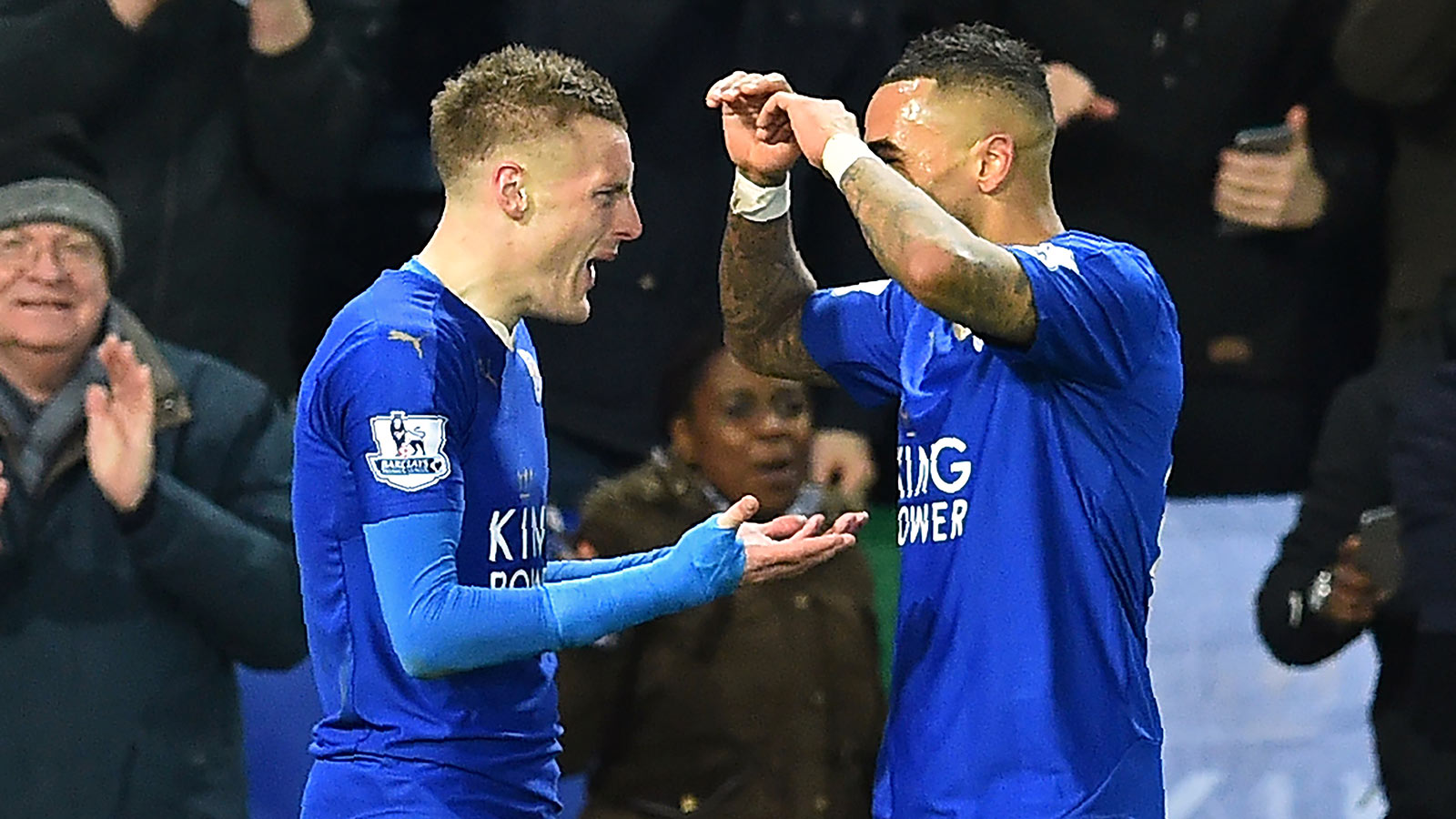 Vardy Party! Leicester star blasts goal of season contender