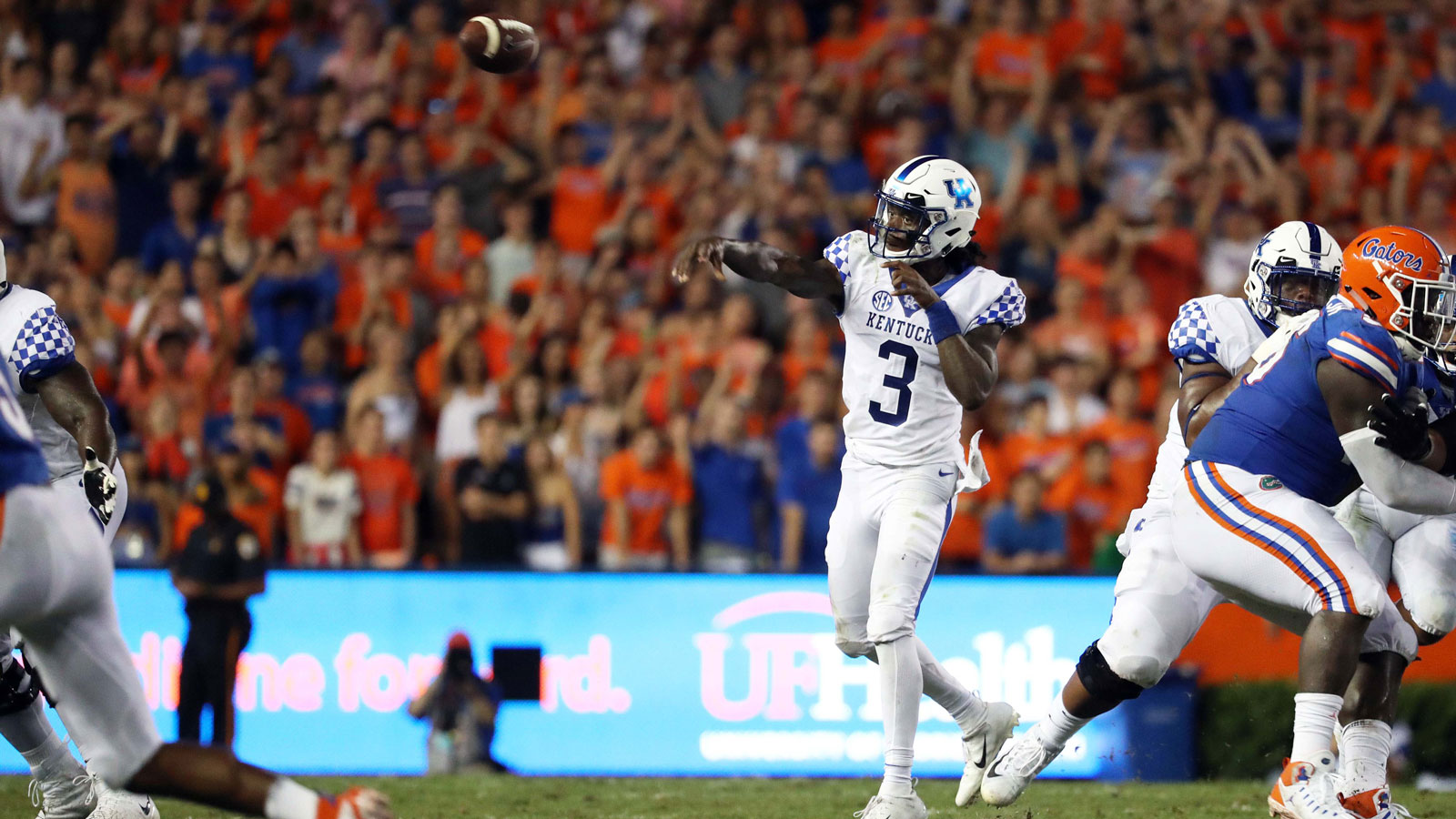 No. 25 Florida has decades-long winning streak over Kentucky snapped in shocking home loss