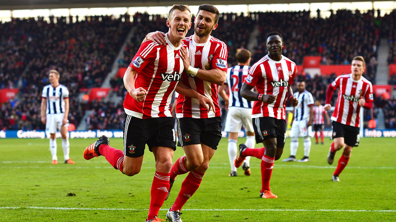 Southampton hammer West Brom; Newcastle move out of drop zone