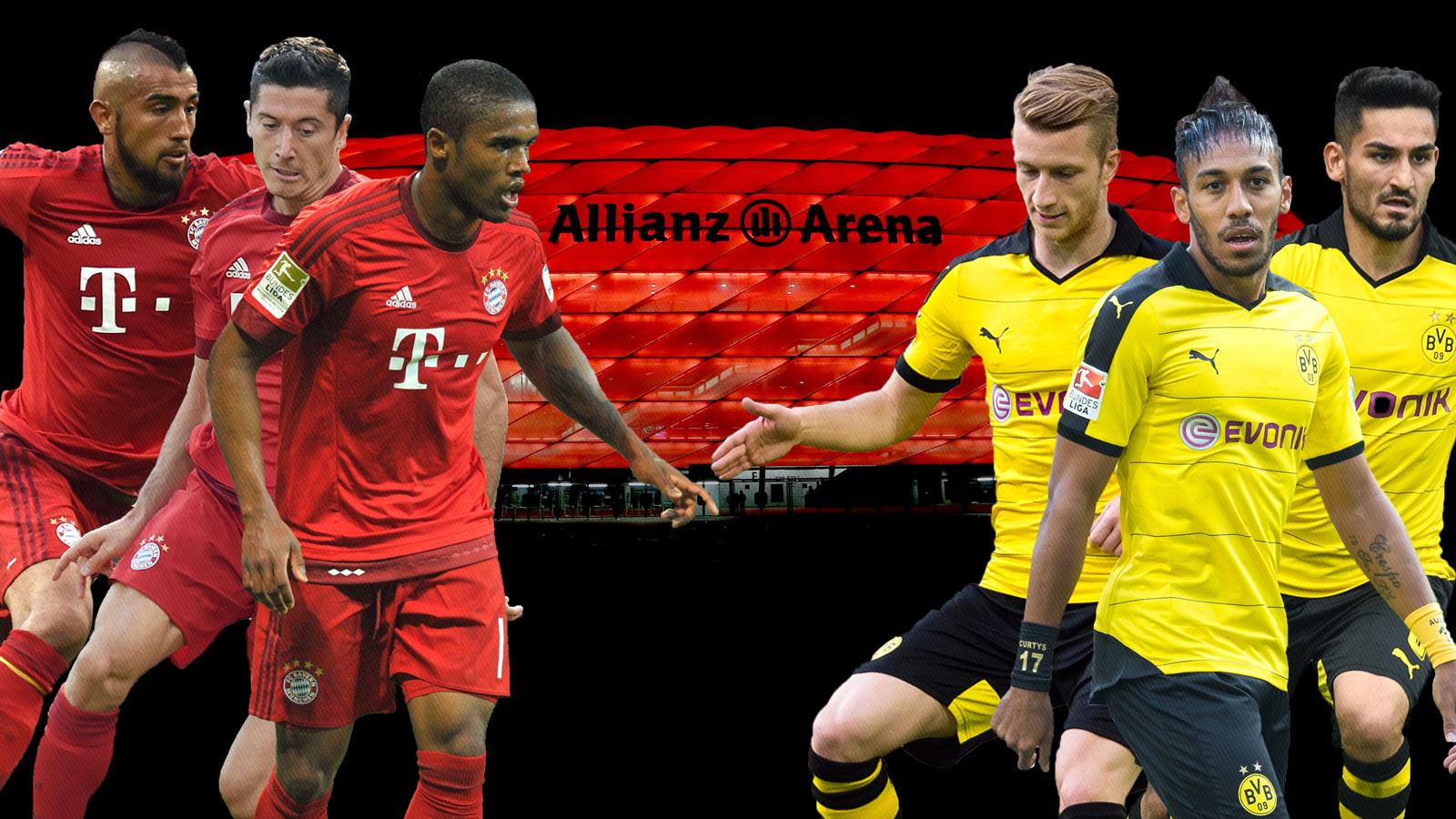 Bayern Munich, Dortmund collide with similar Bundesliga aspirations