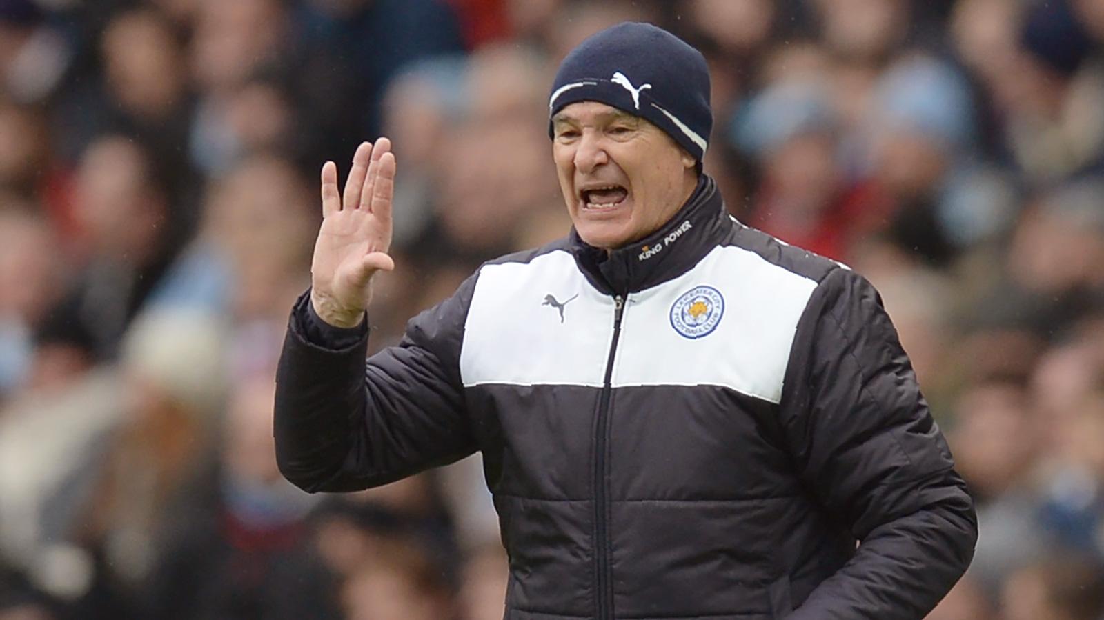 Ranieri refuses to accept tag as Premier League favorites
