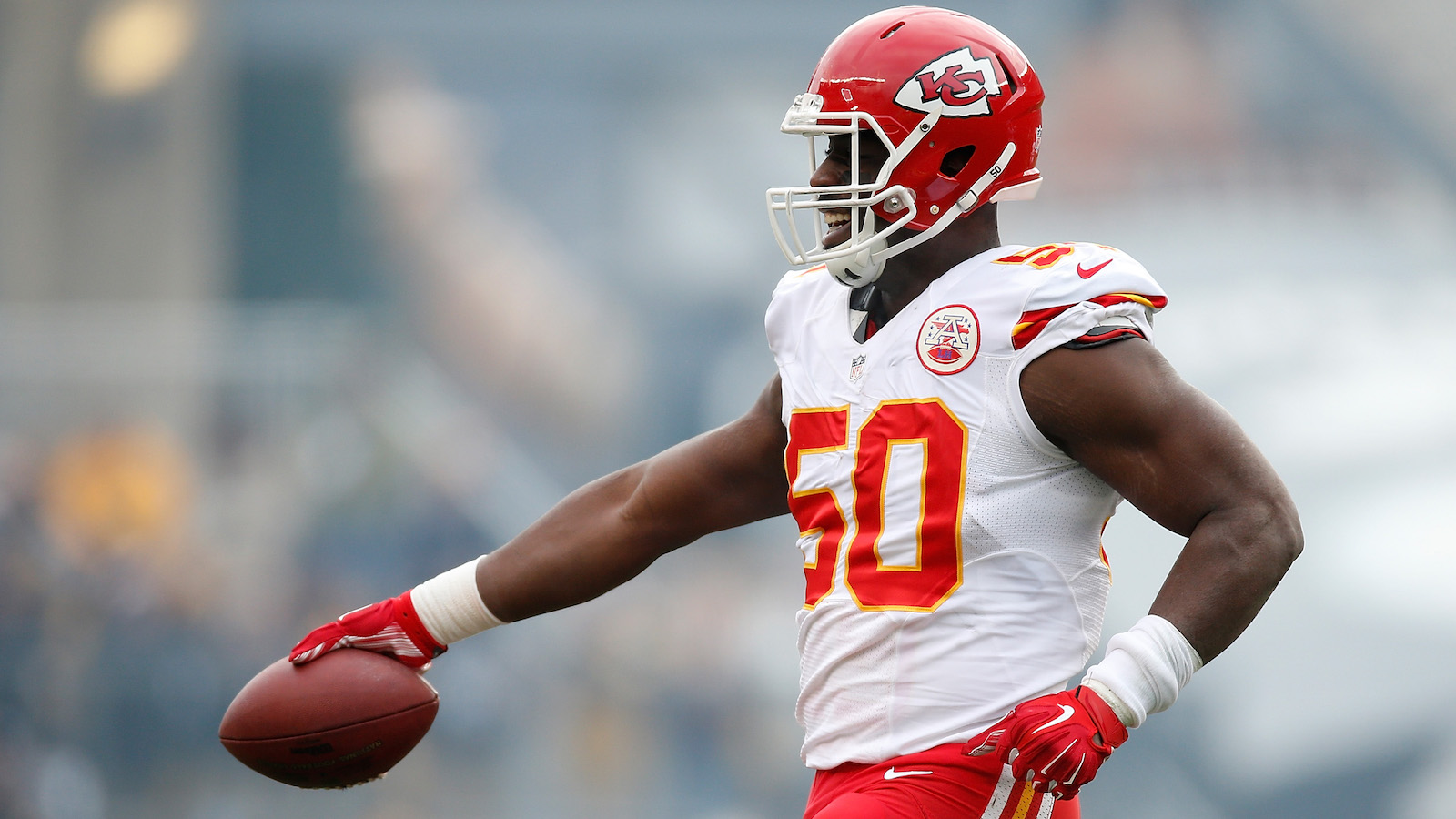 Chiefs place OLB Justin Houston on the PUP list, out at least six weeks