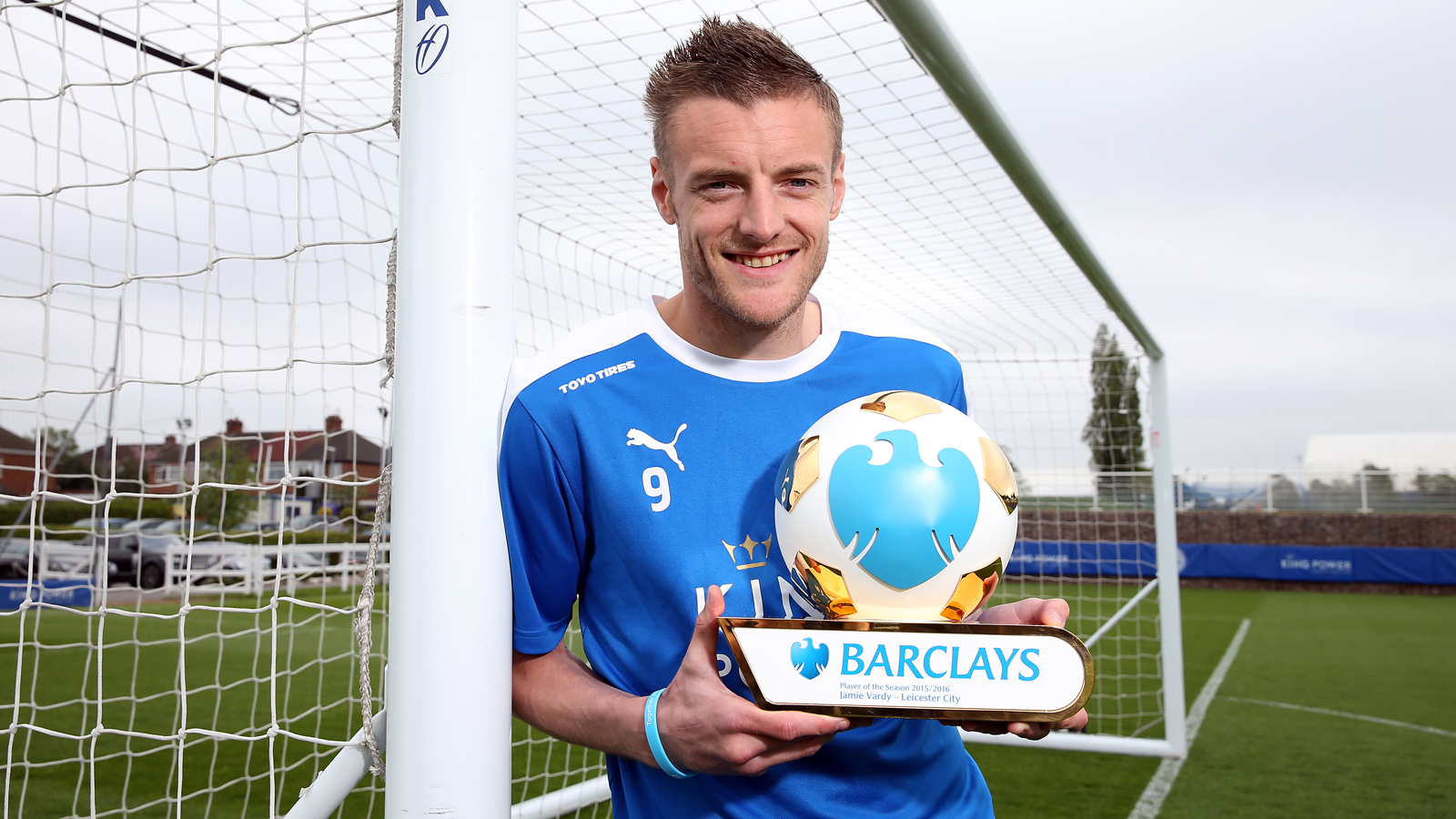 Jamie Vardy scoops Premier League player of the season award