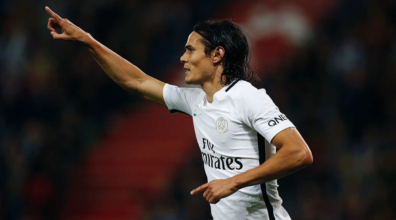 After Champions League disappointment, Cavani helps PSG roll
