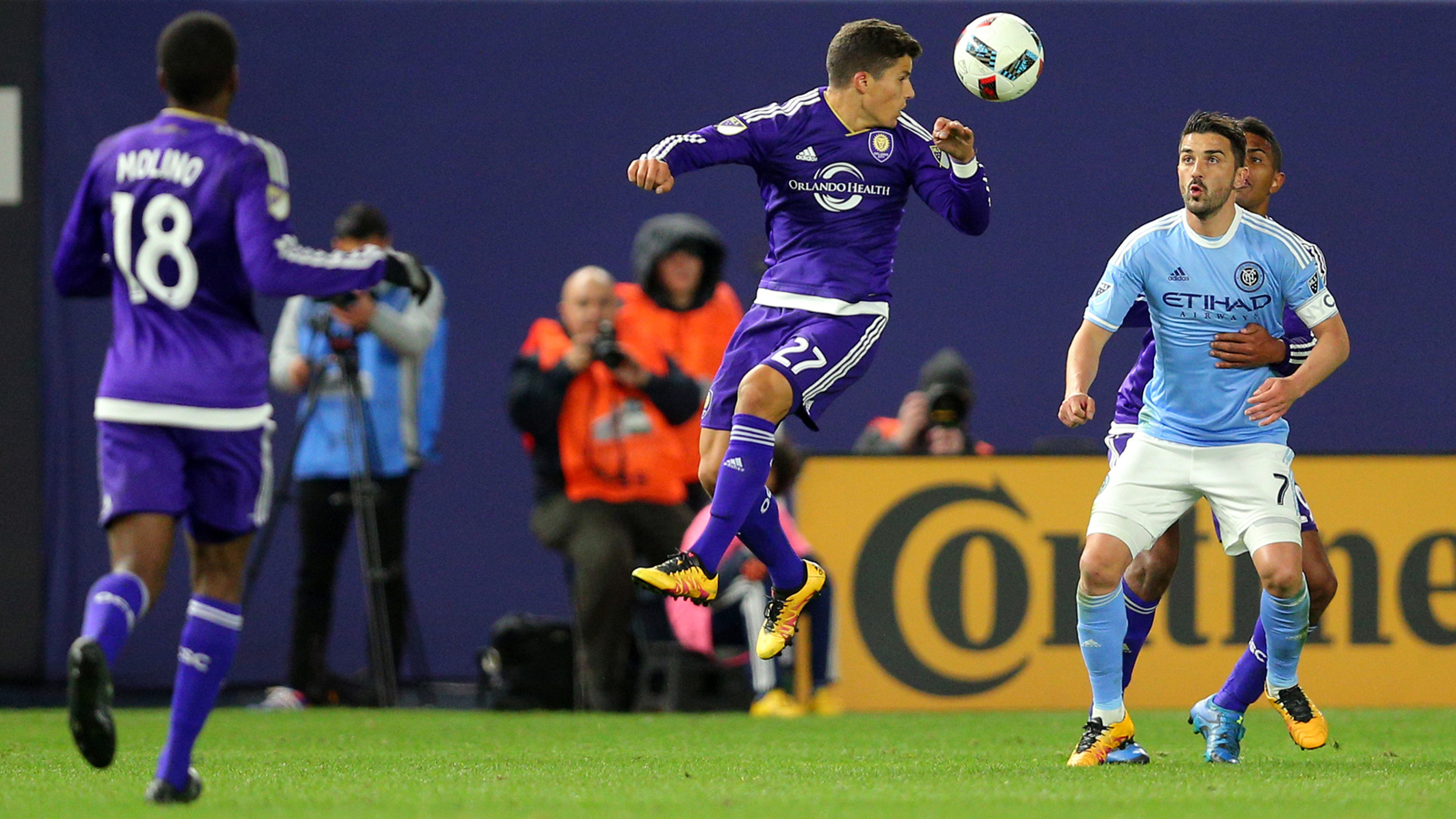 Orlando City's early goal leads them to victory over NYCFC
