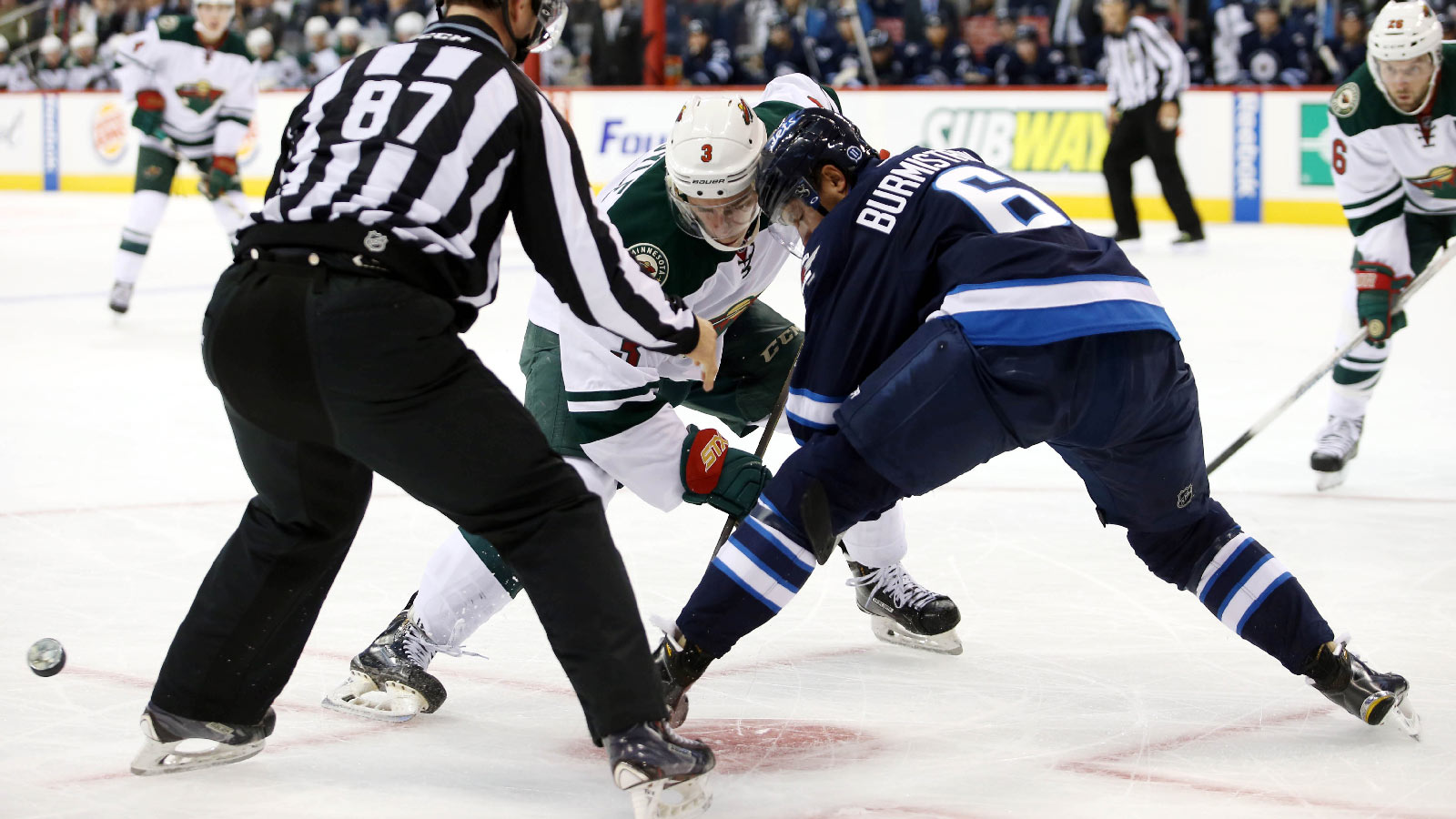 Backstrom, Wild blank Jets in exhibition tuneup