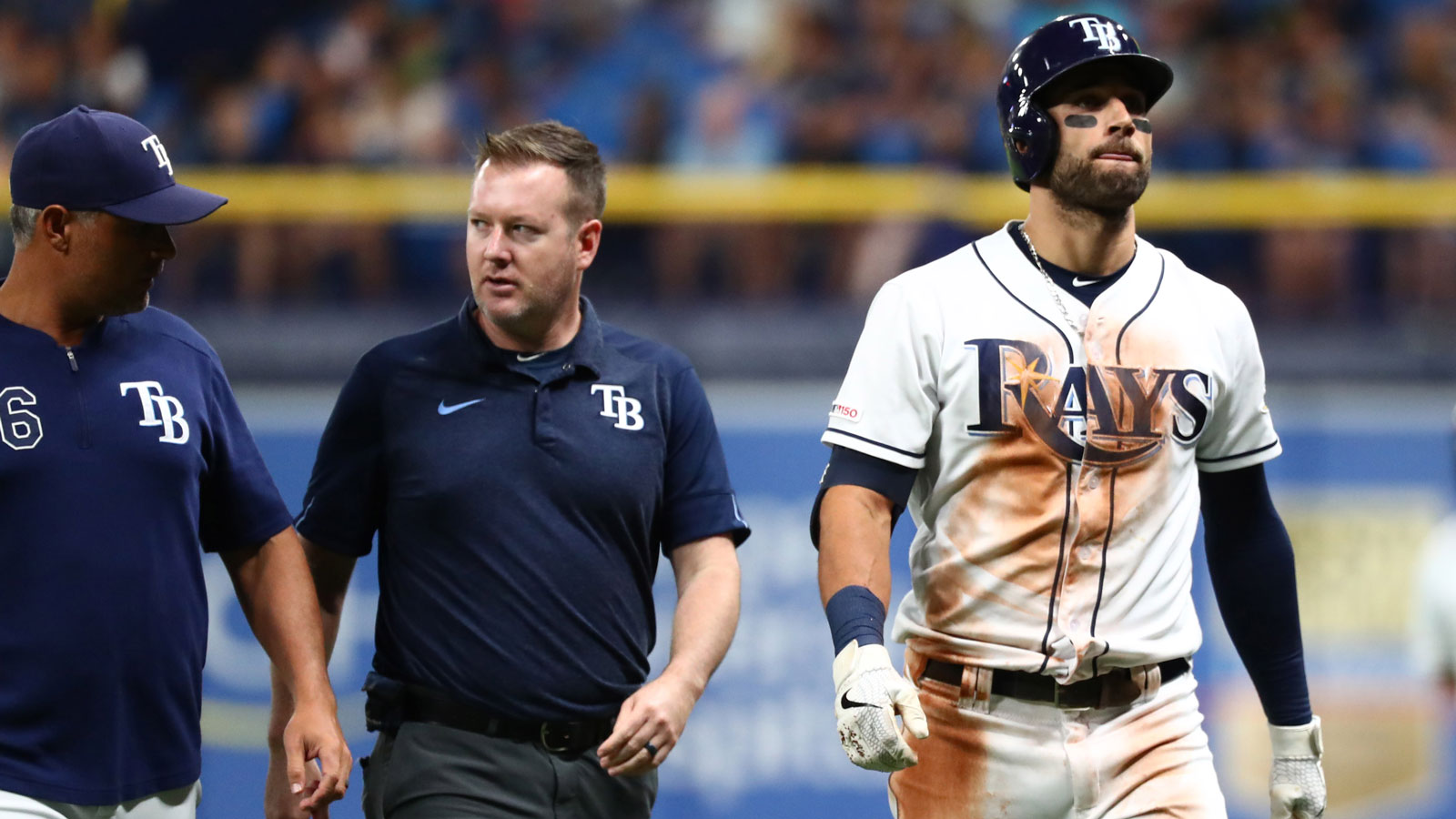 Rays place CF Kevin Kiermaier on 10-day IL with sprained left thumb injury