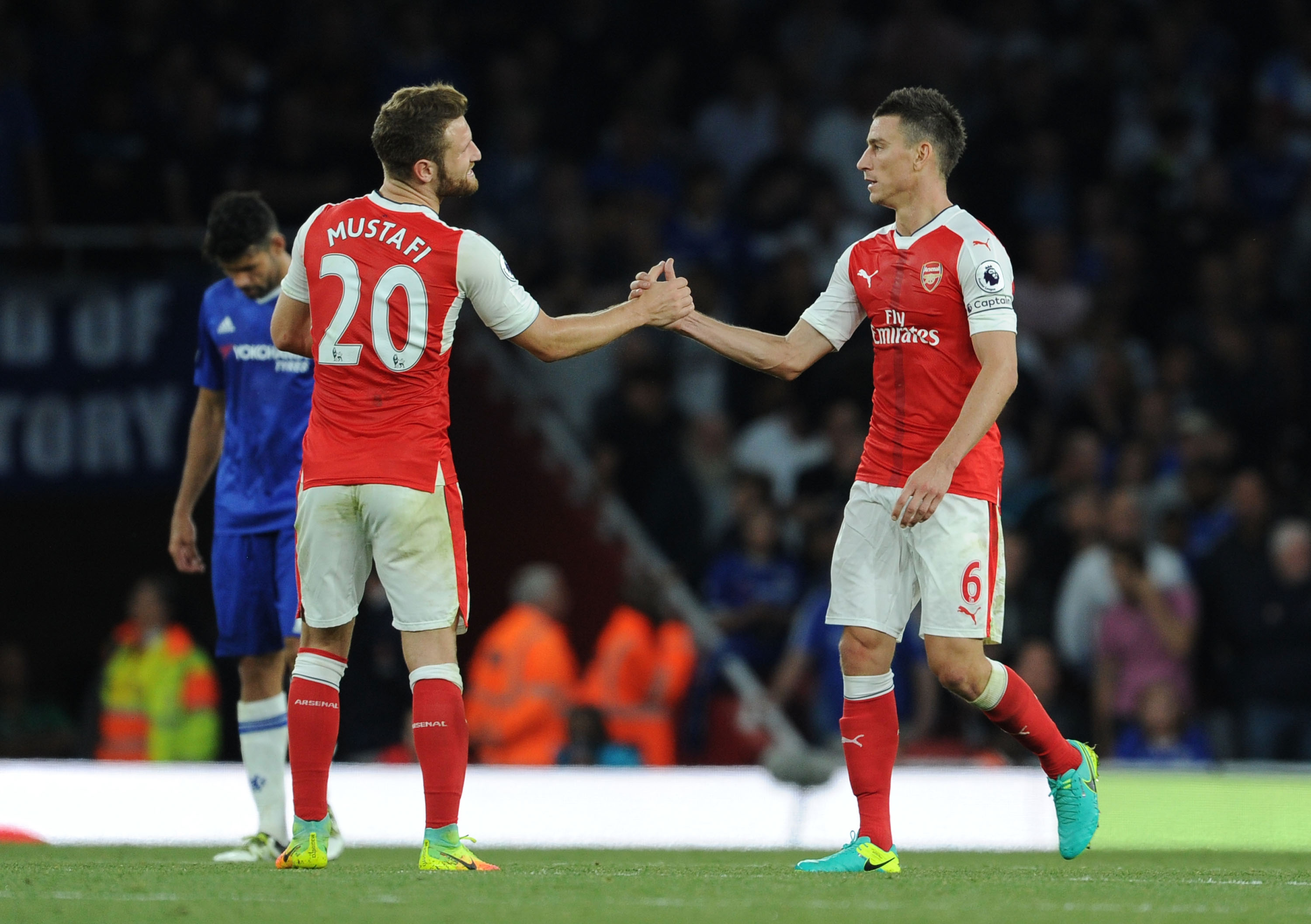 Arsenal: Laurent Koscielny, Schkodran Mustafi Partnership Takes Stand