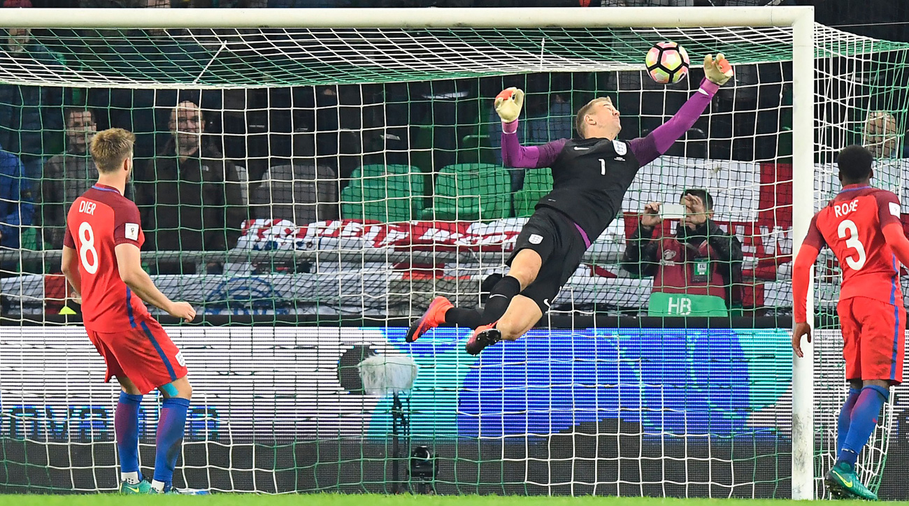 Hart stars, but England held to scoreless World Cup qualifying draw by Slovenia