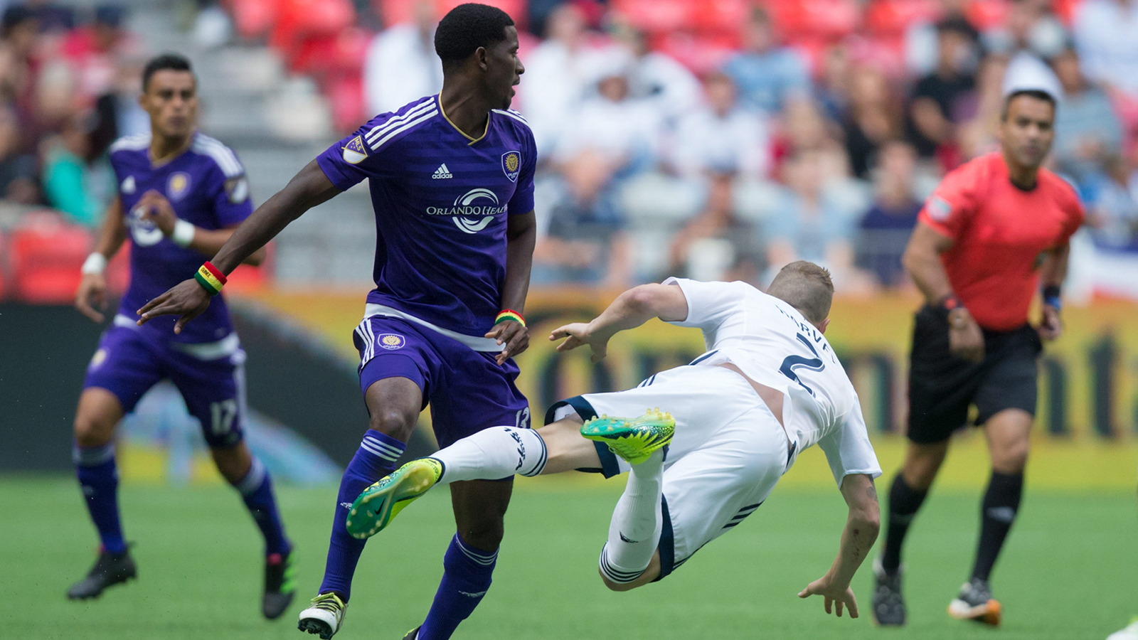 Cyle Larin scores for Orlando City in draw with Vancouver Whitecaps
